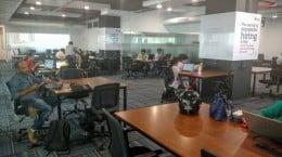 iKeva, a plug-and-play workspace facility