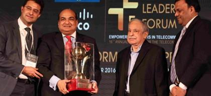 Sandip Das, Voice&Data Telecom Lifetime Contribution 2016