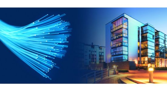 The advanced fiber networking technology - FTTH (Fiber To The Home) can easily handle symmetrical traffic and has very low latency