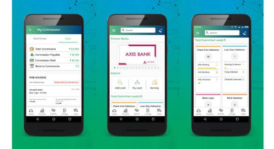 Mobile App for Brokers Square Connect Mobile App