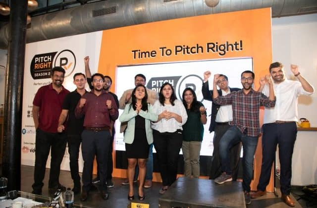 The finalists pitched their startups during the live shoot to raise on-spot funding from top angel investors and seed investment from Zone Startups India.