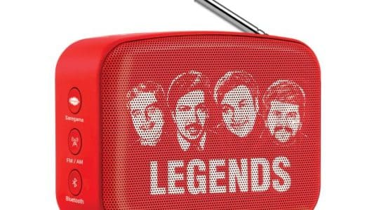 Saregama has launched Carvaan Mini Legends preloaded with 351 superhit retro Kannada songs from legendary artists like Dr. Rajkumar.