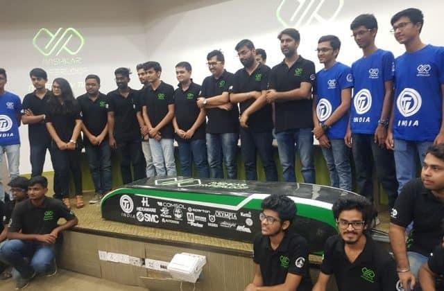 Avishkar Hyperloop is the student team fromIIT-M, working on an indigenous design, first-ever self-propelled, completely autonomous Hyperloop Pod in India.