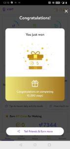 Visit Health FitCoins rewards