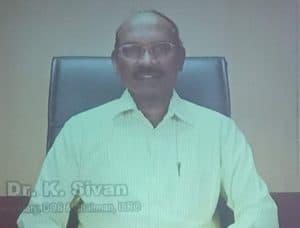 K. Sivan, ISRO