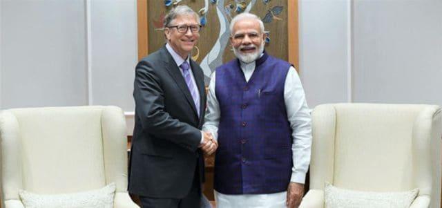 BILL GATES Meets PM Narendra Modi