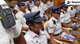 Secureye Body Worn camera in police