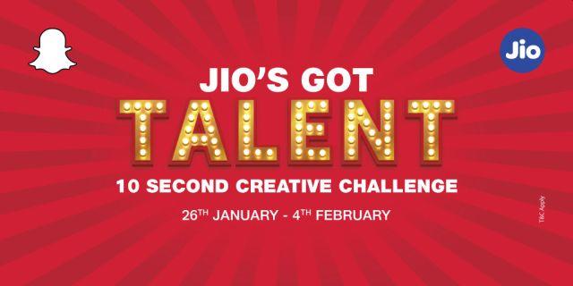 Jio's got talent