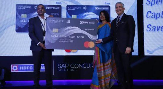 SAP Concur-HDFC Bank Corporate Credit Card Launch