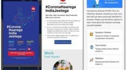 MyJioApp has a coronavirus tool to test at home