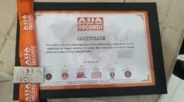 STL wins Asia Book of Records