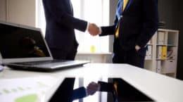 hire handshake