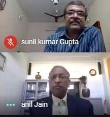 Anil Jain and SK Gupta