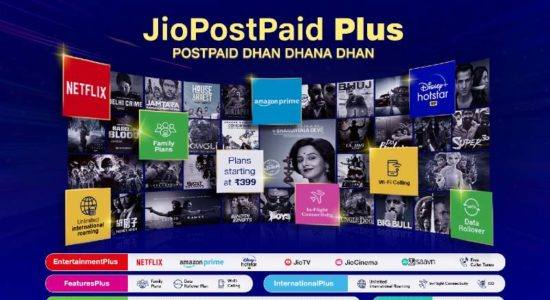 Jio Post Paid Plus Features