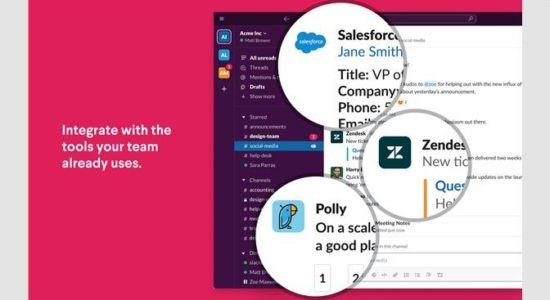 A Dow Jones report states that Salesforce has been in talks with Slack and the deal would likely value Slack at $17 billion.