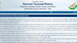 Trusted Telecom Portal